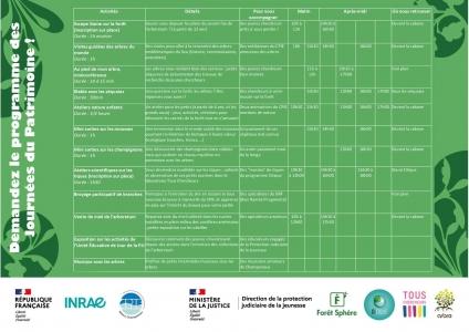 19/09/2021 - Programme
