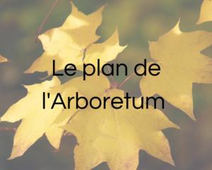 Le plan de l'Arboretum - Infos pratiques