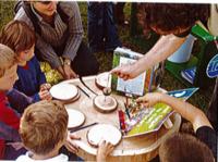 Atelier du CPIE sur la connaissance des arbres à l'Arboretum d'Amance de Champenoux