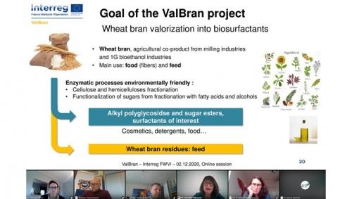 02 Décembre 2020 - Séminaire final du projet Interreg ValBran