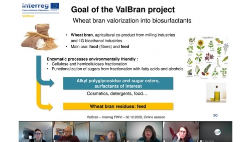 02 Decembre 2020 - Closure seminar for the Interreg ValBran project