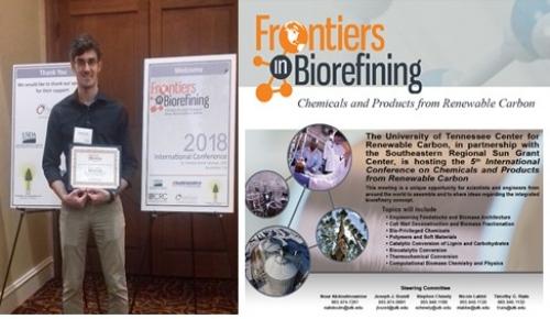 12 novembre 2018 - Participation de FARE au congrès Frontiers in Biorefining