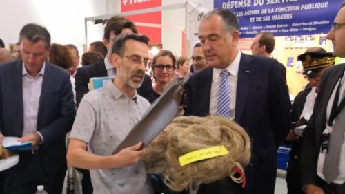 02 septembre 2019 - Visite ministérielle à la Foire de Châlons