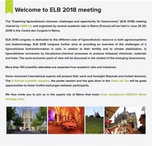 Congrès ELB 2018