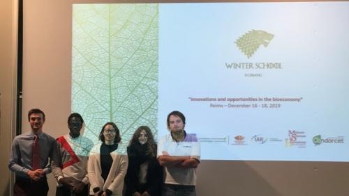 20 décembre 2019 - Les doctorants de FARE ont participé à une Winter School