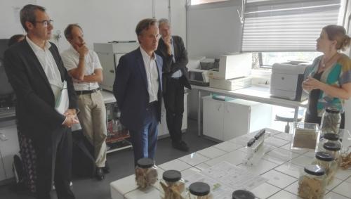 27 août 2019 - Le PDG de l'INRA visite FARE