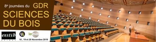27 novembre 2019 - FARE participe aux journées annuelles du GDR Sciences du Bois