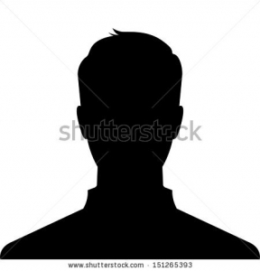 image visage homme anonyme