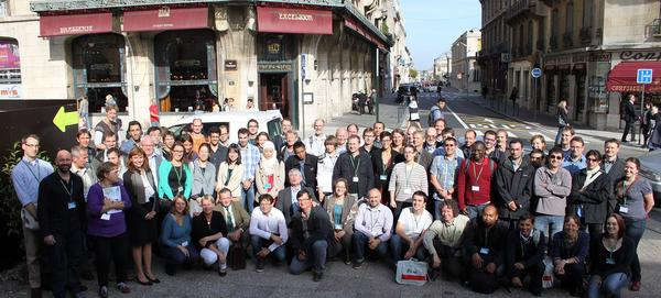 photo des congressistes au colloque MeMoWood