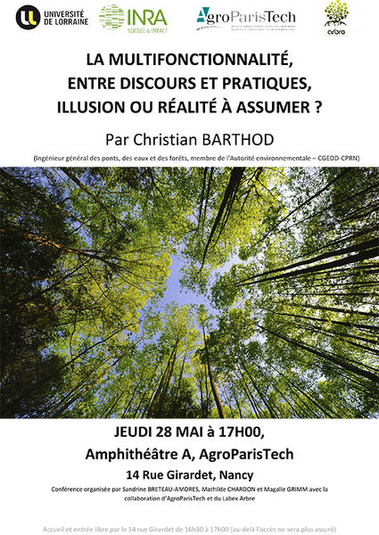 Affiche conférence Barthod