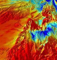 carte prédictives simulant le bilan en eau des sols dans les Alpes
