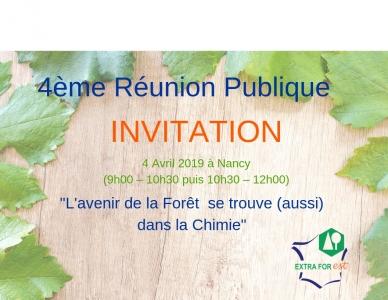 invitation rencontre extraforest