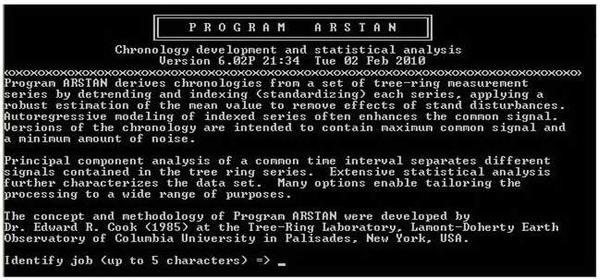 Program ARSTAN