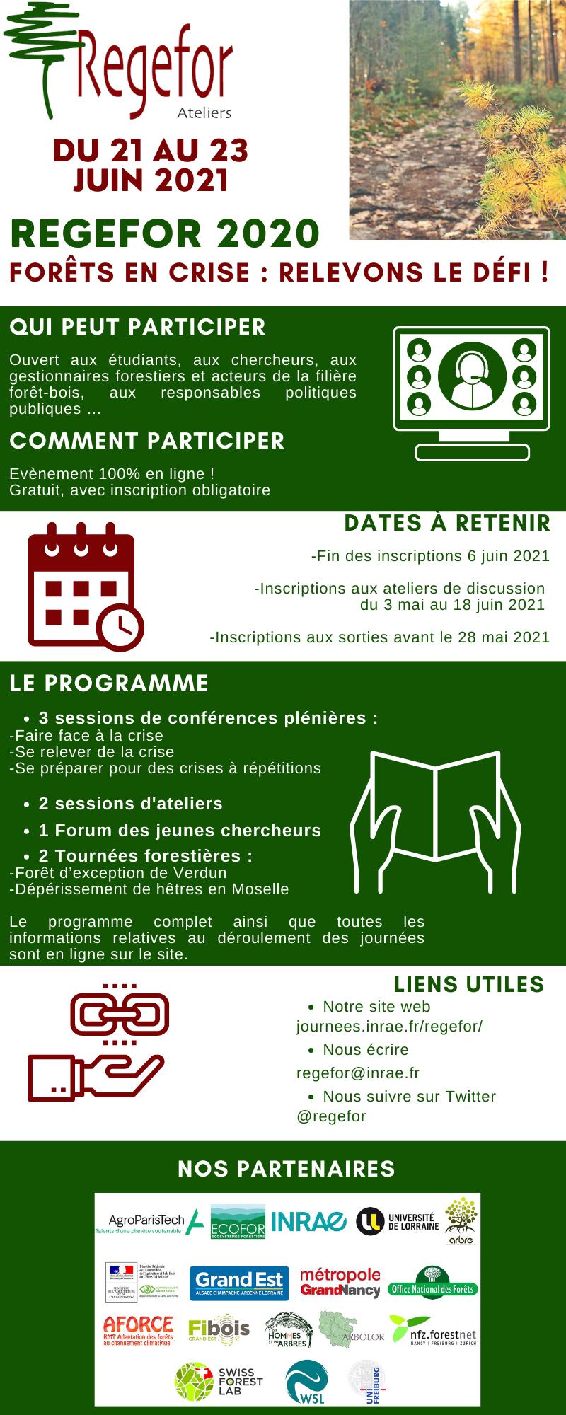 infos pratiques ReGeFor2020